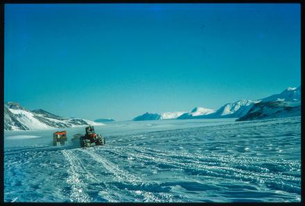 [Snow tractors - Support Party en route]