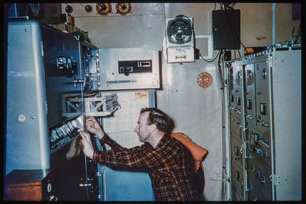 [Technician at work - interior]