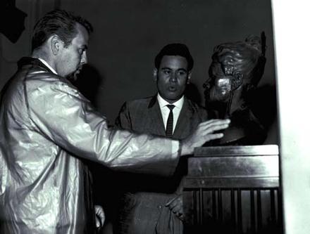 Howard Morrison Quartet filming for television.