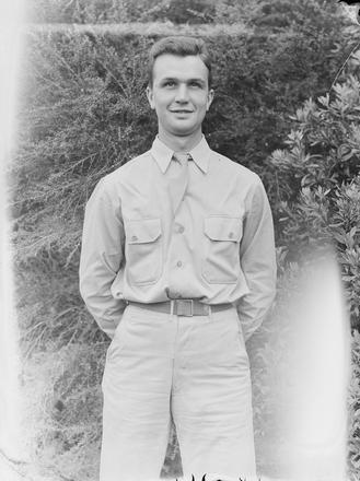 [Portrait of a US military serviceman]