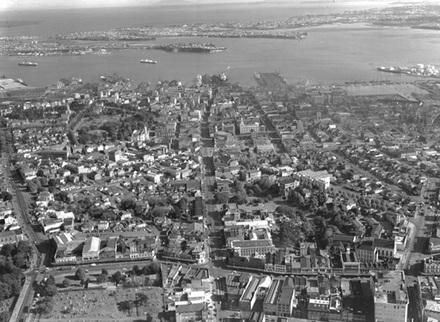 City aerials.