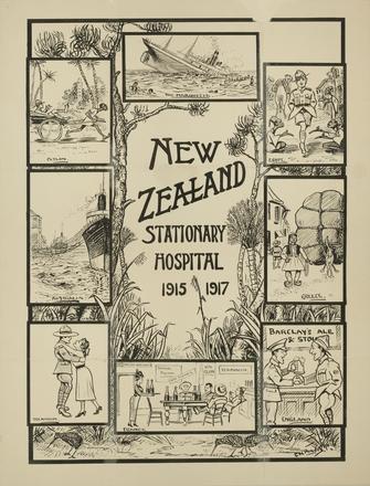 New Zealand Stationary Hospital 1915-1917