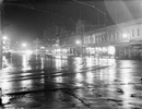 Queen Street on a wet night..