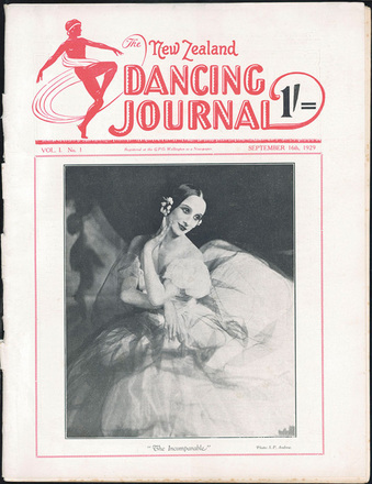 The New Zealand dancing journal