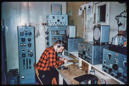 [Radio operator]
