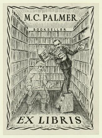 M. C. Palmer Ex libris