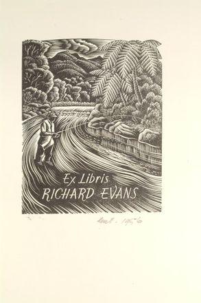 Ex Libris Richard Evans