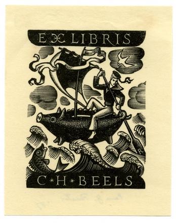 Ex Libris C. H. Beels