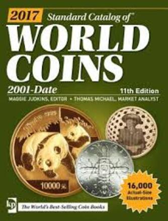 2017 standard catalog of world coins