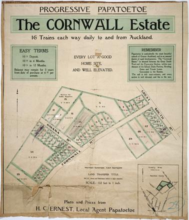 The Cornwall Estate : progressive Papatoetoe