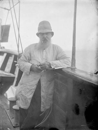 [Southern Cross (Mission vessel) Man, on board]