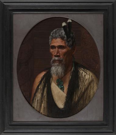 Anaha Te Rahui, the Celebrated Carver of Rotorua