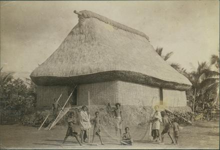 Fiji - House from dry area of viti levu, Fiji