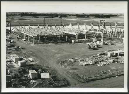 [TEAL jet base at Auckland International Airport under construction]