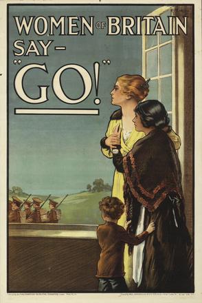 "Women of Britain say - ""Go!"""