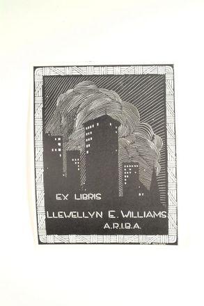 Ex Libris Llewellyn E. Williams