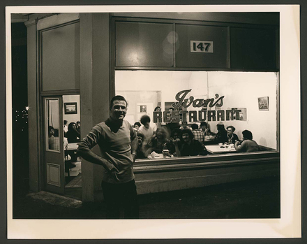 Ivan, Ivan's Restaurant, Ponsonby Road