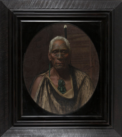 Te Hau Takiri Wharepapa, a Chieftan of the Ngapuhi Tribe