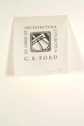 Ex Libris de Architectura Collectis a C. R. Ford