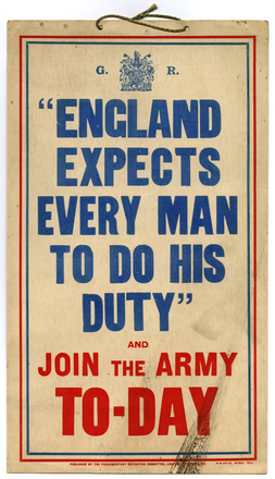 """""""England expects every man to do his duty"""""""