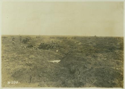 NZ Fieldguns in the mud, Passchendaele, Oct 1917