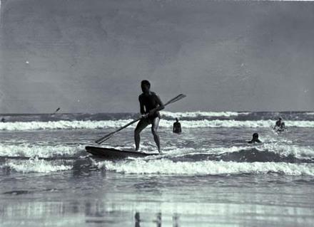 Beaches Piha Surfers.