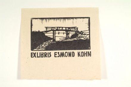 Ex Libris Esmond Kohn