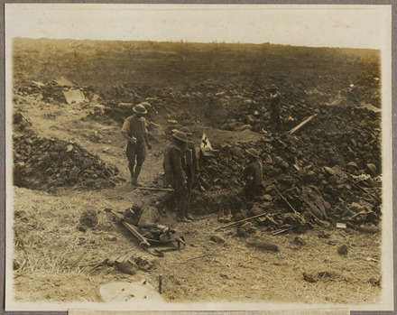 BATTLE OF MESSINES RIDGE. Advanced Dressing Station.
