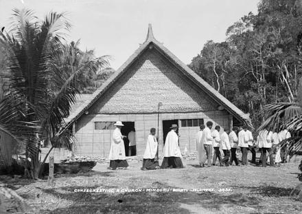 Consecreating a church - Mindoru, Bugotu - Solomons