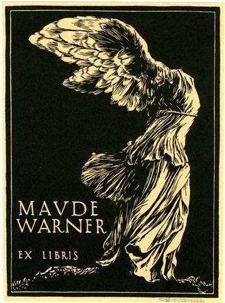 Ex Libris Maude Warner