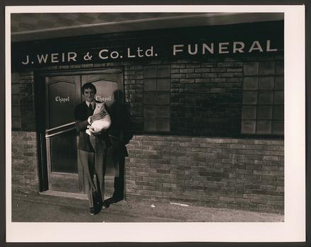 John Moller, Funeral Director, & Noball, Ponsonby Road