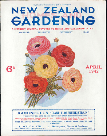 New Zealand homes and gardening : the only national monthly journal devoted…