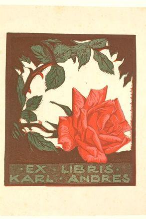 Ex Libris Karl Andres