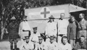 New Zealand Soldiers wounded - recovering at Nieva House Field Hospital - No known copyright restrictions.