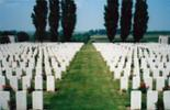 Passchendaele New British Cemetery in northern Belgium. - No known copyright restrictions.