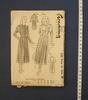pattern, dress, woman's, pattern number 2625