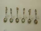 teaspoons, set of six 'Musician' teaspoons