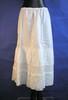 petticoat, fine white cotton, drawstring waist, ve...