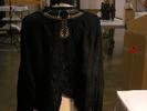 black blouses (2), .1 Black satin, black fastenin...