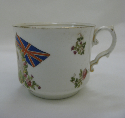cup and saucer, coronation