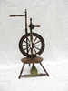 spinning wheel formerly owned by George Welbourne ...