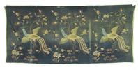 batik, featuring three birds