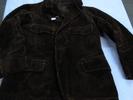 coat, brown cotton corduroy coat, part of game kee...