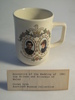 Commemorative mug, Royal wedding