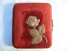 oblong glove box and square handkerchief box set c...
