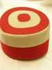 pillbox cap, goes with striped blazer (U039) Possi...