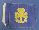 Girl Guide flag. Belonged to Yvonne Lediard. Used ...