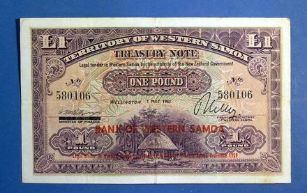Samoan money