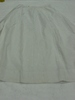 petticoat, woman's, White cotton, spotted weave wi...