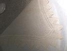 antimacassar; white square, crochet with diagonal ...